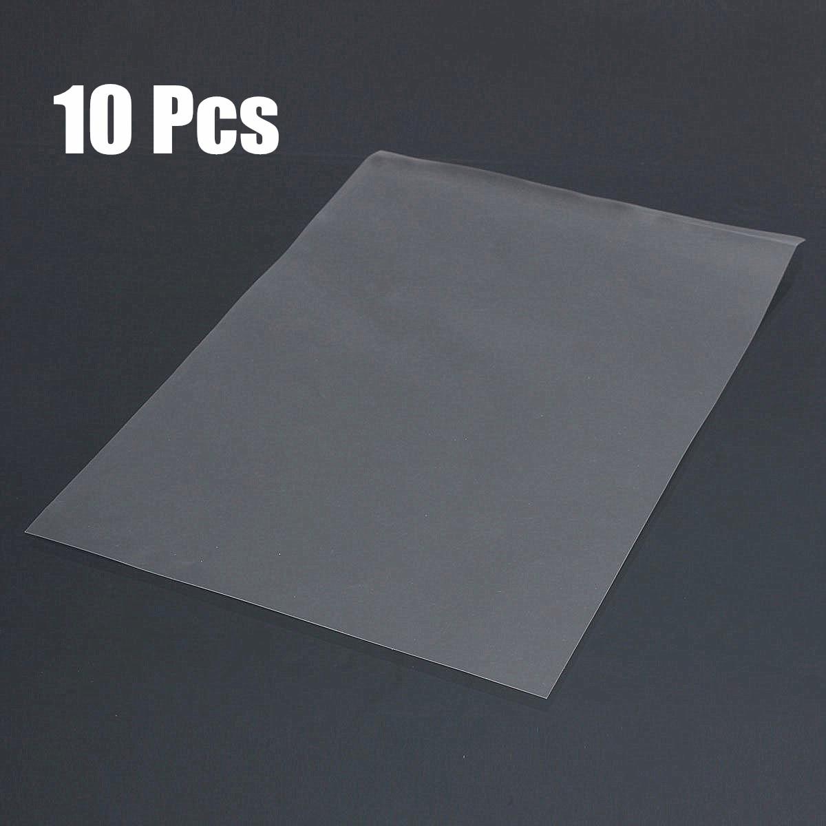 10pc A4 Transparency Film Paper for Inkjet Laser Printer DIY PCB Screen Printing