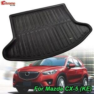 Image 1 - For Mazda CX 5 CX5 KE 2012 2013 2014 2015 2016 Boot Mat Rear Trunk Liner Cargo Floor Tray Carpet Guard Protector Car Accessories