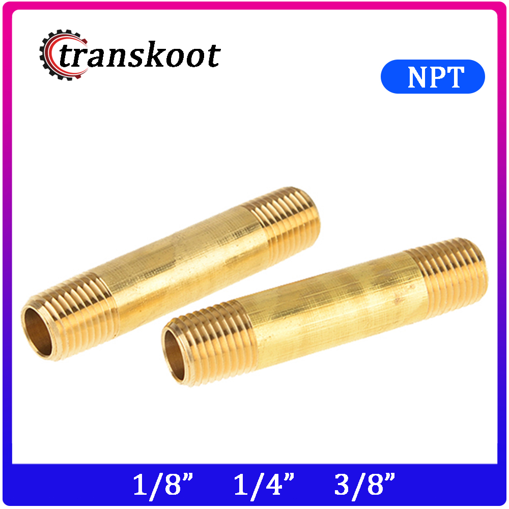 2pcs 3330 Brass Pipe Fitting 1/8