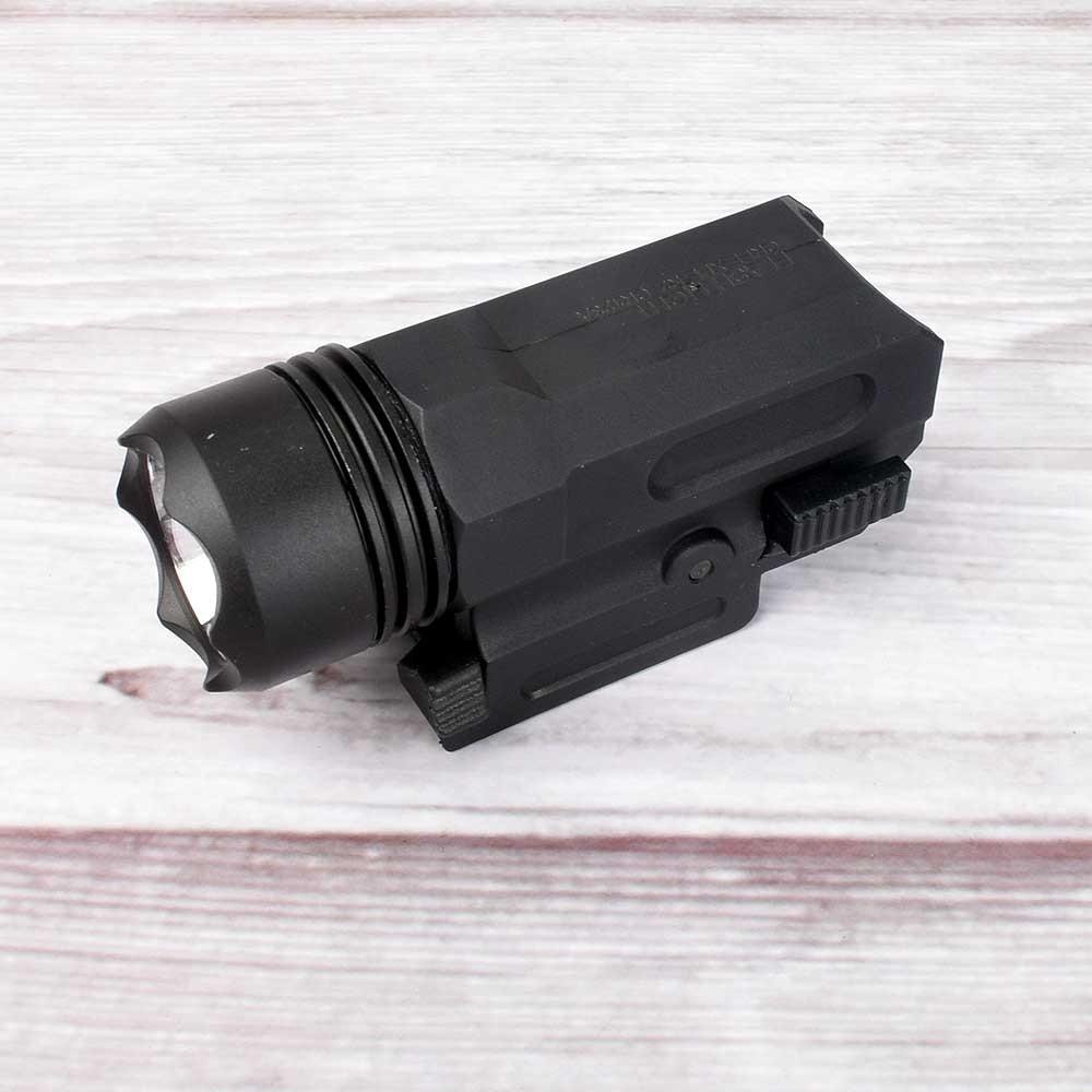 Red Dot Laser Sight Tactical Airsoft Handgun Flashlight Combo LED Tactical Gun Torch for 20mm Rail Glock 17 19 18C 24 P226-1