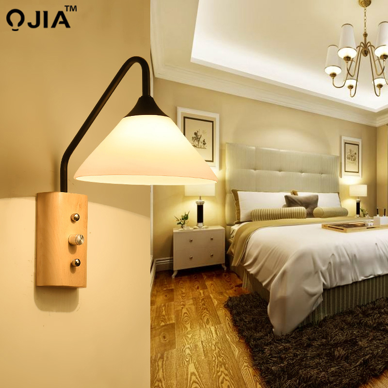 29 82 49 De Réduction Lampe Murale Moderne Lampes De Chevet Applique Murale Escalier éclairage Pour Chambre Décor à La Maison 110 V 220 V E27