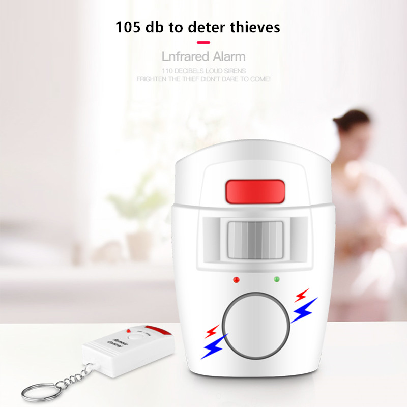 105db Home Security Drahtlose Fernbedienung Alarm System PIR MP Alert Infrarot Sensor Anti-diebstahl Motion Detektor Alarm Monitor
