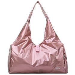 Трендовая сумка для йоги и тренировок однотонная объемная износостойкая переносная дорожная сумка багажная сумка Трев
