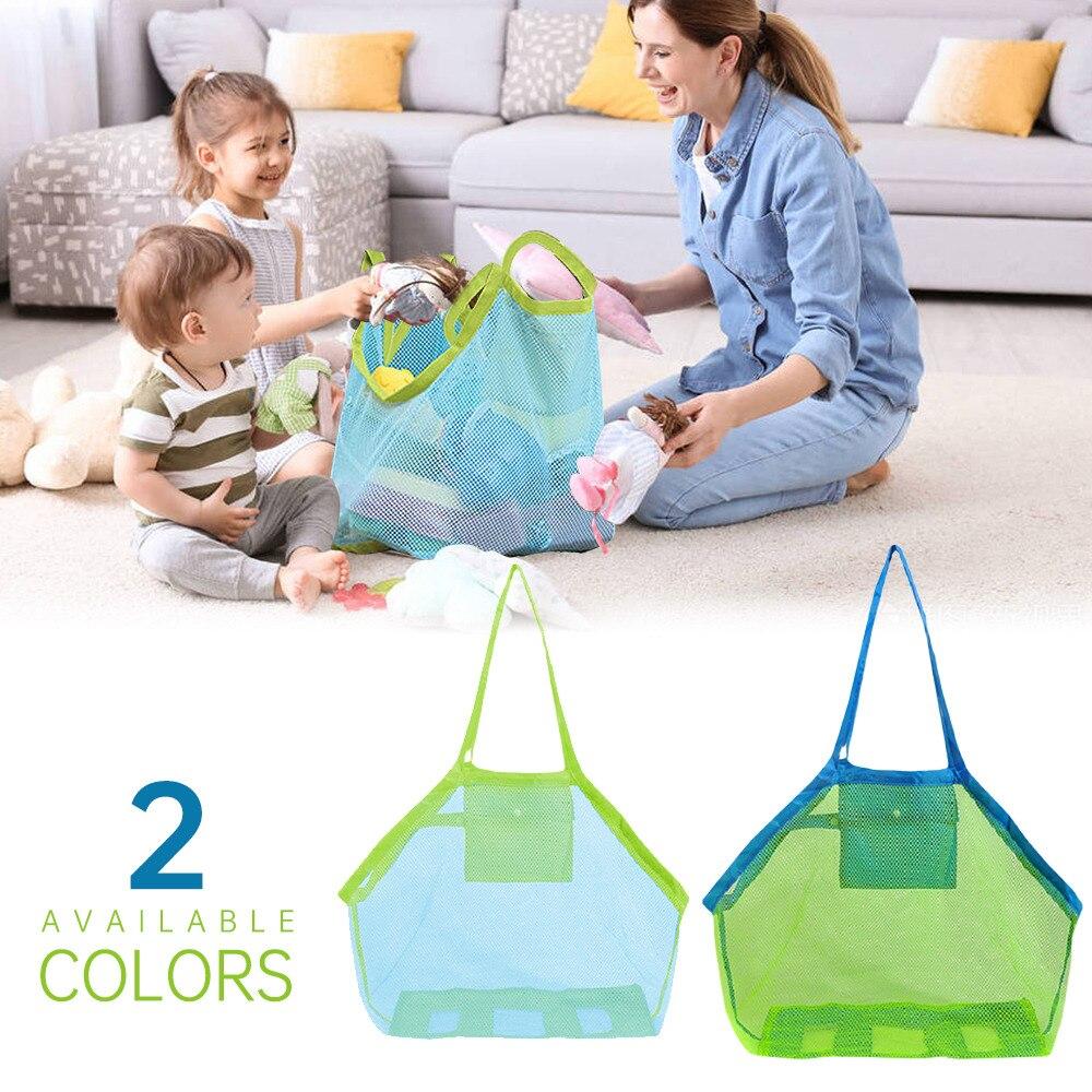 Пляжная сумка анти-песчаная сетка вакуумный мешок для детские игрушки для пляжа Водонепроницаемый одежда Полотенца хранения хозяйственна...