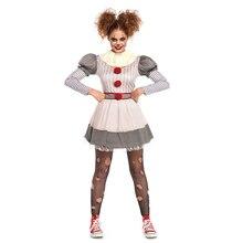 Pennywise Cosplay Clown-Costume Halloween Party-Dress Creepy Girls Women Umorden