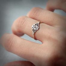 Винтажные ирландские кольца с узелками в форме сердца для женщин, вечерние ювелирные изделия в Дублине