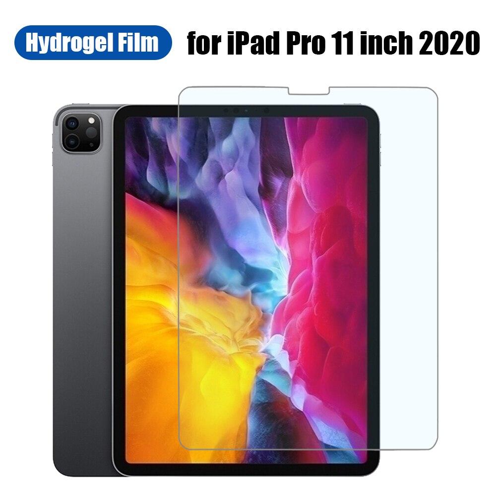 Folia hydrożelowa do ipada Pro 11 cali 2020 Tablet folia ochronna do ekranu Pro11 bez pęcherzyków odporna na zarysowania oleofobowa powłoka