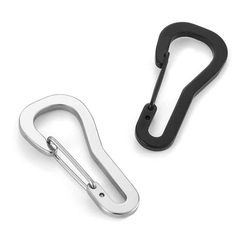 Hanging Buckle Carabiner Clip Karabiner Metal Snap Hook Stainless Steel Keyring