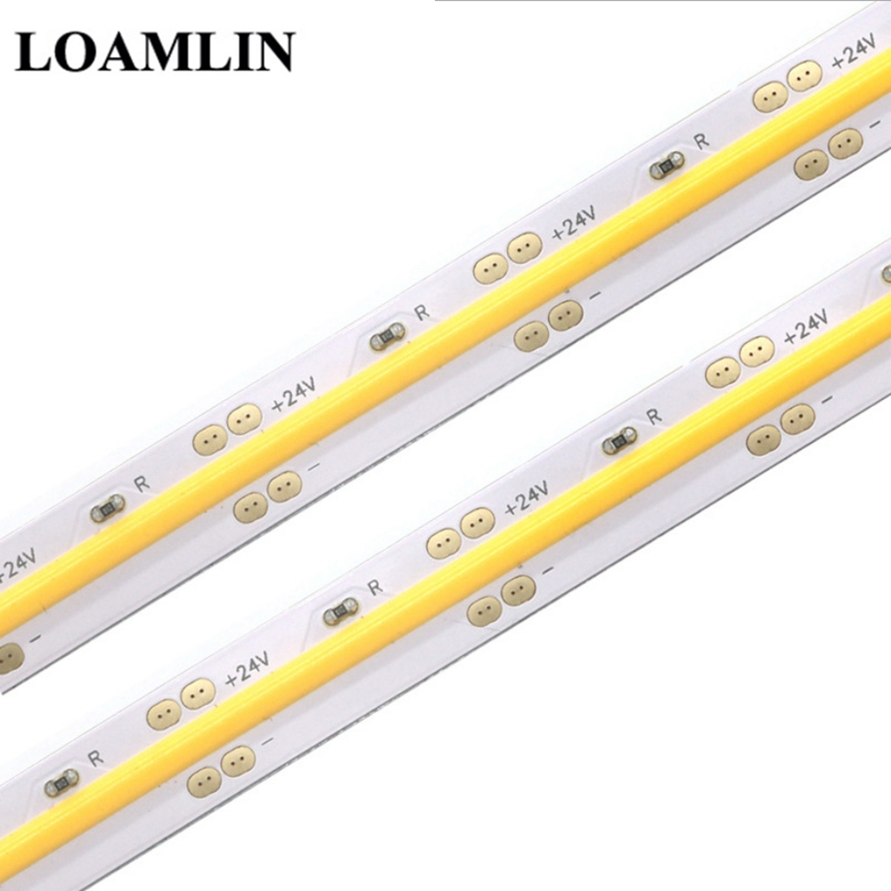 High Density COB/FOB Led Flexible Strip Light, 14W/M RA80 White/Nature White/Warm White/Yellow/Red/Blue/Green Led Lighting IP30