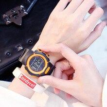 Fashion Children's Watch Sports Girl Electronic Watch Silico