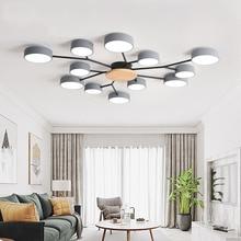 Nordic style stylish room bedroom LED ceiling lamp modern minimalist living room lamp hotel villa light