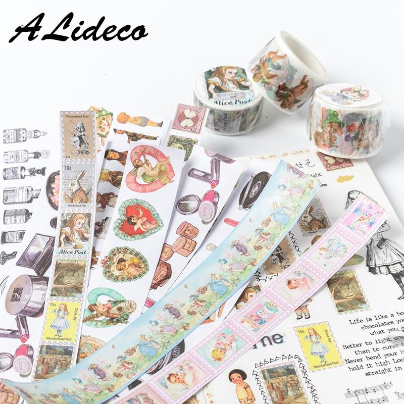1pcs/1lot Washi Masking Tapes Easter Party Animals Decorative Adhesive Scrapbooking DIY Paper Japanese Stickers 5M