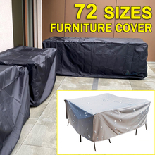 Garden Waterproof Outdoor Patio Furniture Set Covers Rain Snow All-Purpose Chair Covers for Sofa Table Chair Dust Proof Cover