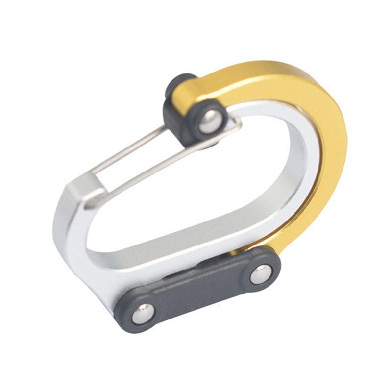 Multi-Function D-Type Carabiner Outdoor Travel Wild Hanging Buckle Hanging Aluminum Alloy Carabiner