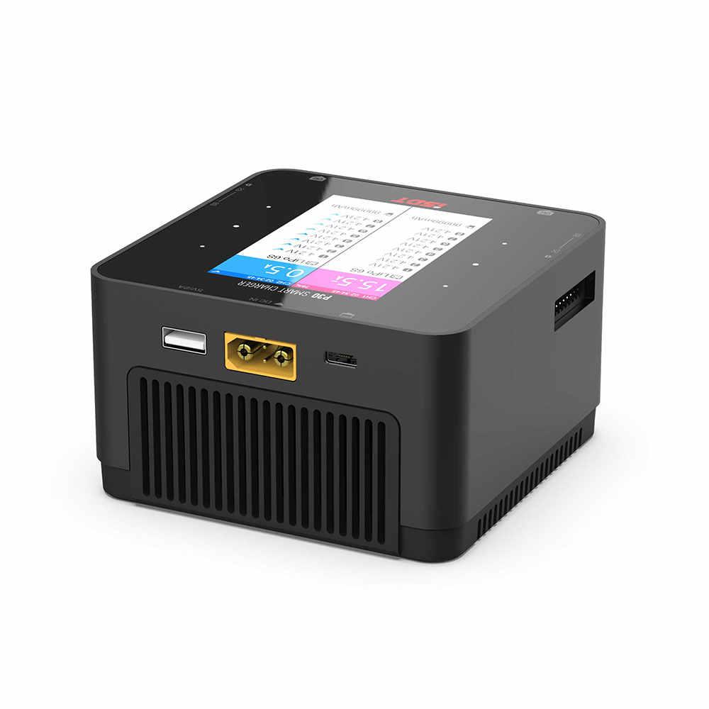 ISDT P30 1000Wx2 Dual Channel Battery Balance Charger untuk Lilon LiPo LiHV NiMH Pb RC Model dengan Paralel Charing Kabel