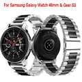 Bracelet de montre universel en acier inoxydable 22mm pour montre Samsung Galaxy 46mm/Gear S3 classique/S3 Frontier bracelet en métal