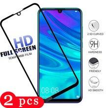 Peças para huawei y6 2 2019 y5 vidro temperado lite y6 y7 prime pro 2019 2018 película protetora da tela do telefone vidro protetor de smartphones