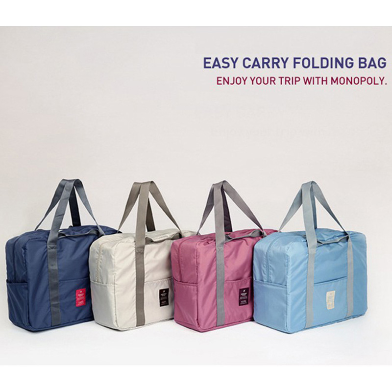 Travel Goods Large Capacity Storage Bag Functional Travel Accessories Clothing Sorting Bag Luggage Solid Portable Storage Bag
