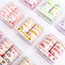 10 Pcs/Set washi tape blueberry masking fruit stickers scrapbooking Kawaii washitape decorative school stationery