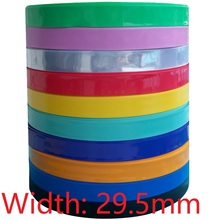 Sleeve-Protector-Cover Battery-Wrap Heat-Shrink-Tube Flat-Pack Lipo Colorful 18650 Diameter-18.5mm