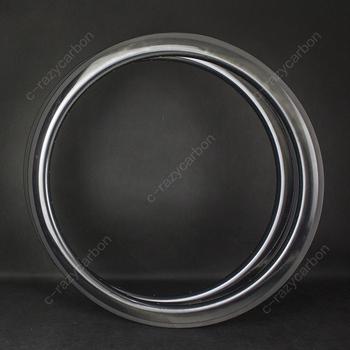 Jakość U kształt 55mm węgla droga rowerowa UD lustro powierzchnia błyszczący 700C węgla bezdętkowe Clincher rurowy tanie i dobre opinie 20-24 h Matte Glossy Rowery drogowe CARBON ROAD RIM V hamulca Clincher Tubular Tubless 26mm outer width U shape
