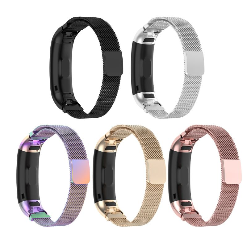 Magnetic Stainless Steel Replacement Watch Band Strap For Huawei Honor Band 3 / Band3 Pro TER-B09 TER-B29 Bracelet