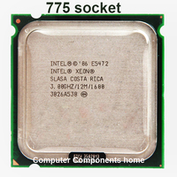 INTEL XEON E5472 CPU Quad Core 3.0GHz 12MB  80W works on LGA775 mainboard no need adapter|CPUs| |  -