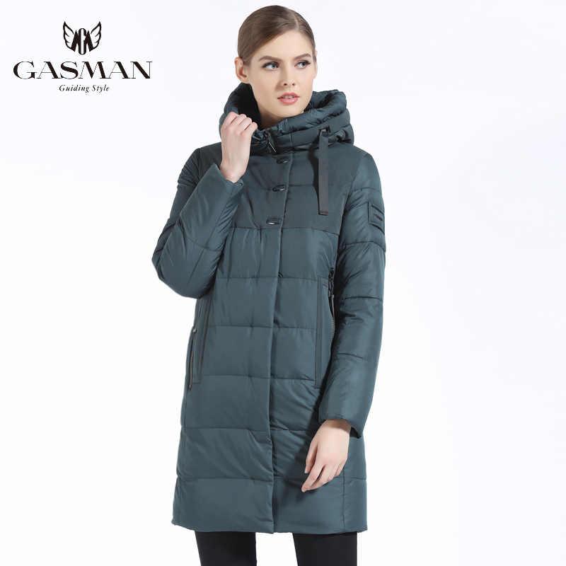 GASMAN 2019 브랜드 여성 겨울 자켓 캐주얼 여성 두꺼운 후드 파커 여성 방풍 코트 바이오 다운 자켓 New 17616