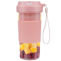 Portable Blender USB Rechargeable  CREATIVE DESIGN Small Blender Cordless Personal Blender for Shakes and Smoothies  300Ml Juice|  -