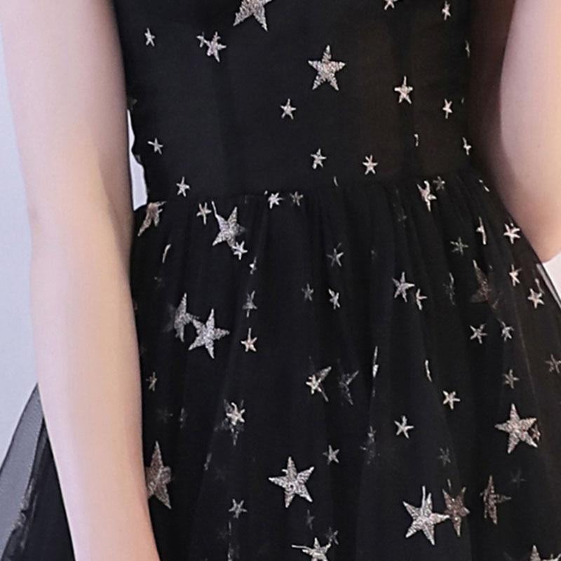 Dongcmy Vestido-Gown Party-Dress Black Elegant Mini Plus-Size Short Sexy