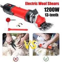 1200W EU Plug Electric Sheep Pet Hair Clipper Shearing Kit Shear Wool Cut Goat Pet Animal Shearing Supplies Farm Cut Machine