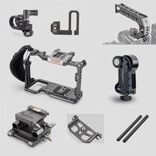 Tilta Z6 Z7 قفص ملحق لنيكون Z6 Z7 كاميرا TA T02 FCC G dslr تلاعب قفص كامل اللوح العلوي مقبض HDMI المشبك