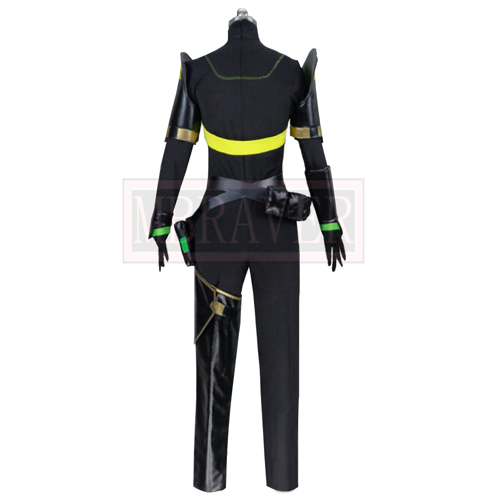 Game Valorant Viper Cosplay Costume Cos Halloween Christmas Party Uniform Costom Made Any Sizes 4