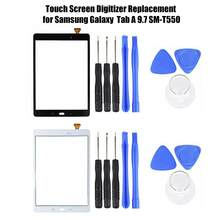 Replacement Touchscreen for Samsung Galaxy Tab A 9.7 SM-T550 Touch Screen Digitizer Front Glass Screen(China)