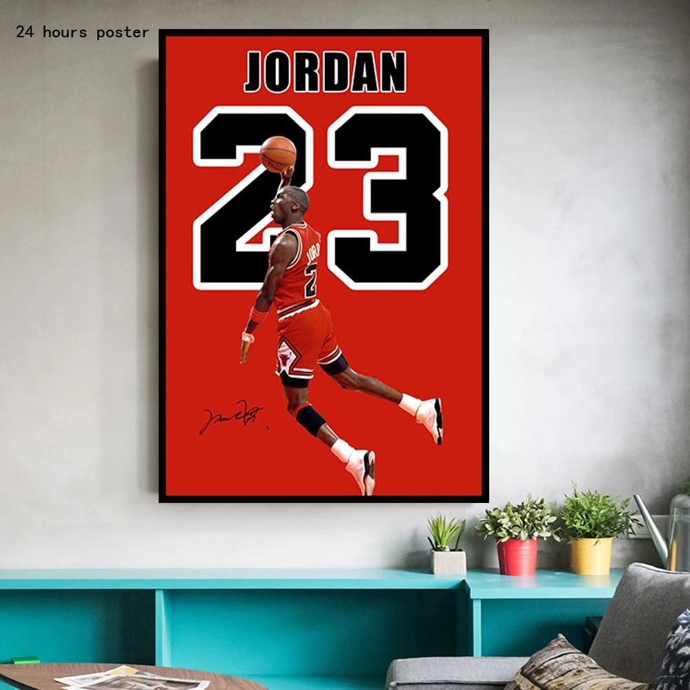 love basketball chicago bulls champion trapeze michael jordan poster print canvas painting home decoration mural