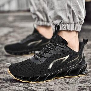 Image 4 - 2020 New Men Sneakers Casual Fashion Men Blade Sneakers Zapatos De Hombre Men Mesh Breathable Shoes Outdoor Sneakers Men