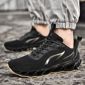 Image 4 - 2020 חדש גברים סניקרס מקרית אופנה גברים להב סניקרס Zapatos דה Hombre גברים רשת לנשימה נעליים חיצוני נעלי ספורט גברים