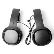 1 paar Geschlossenen VR Spiel Kopfhörer für Oculus Quest/ Rift S für PSVR VR Headset Verdrahtete Kopfhörer Links Rechts trennung VR Kopfhörer