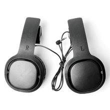 1pair Enclosed VR Game Headphone for Oculus Quest/ Rift S for PSVR VR Headset Wired Earphone Left Right Separation VR Headphones