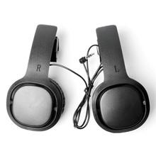 1 par fechado vr jogo fone de ouvido para oculus quest/rift s para psvr vr fone de ouvido com fio esquerda direita separação vr fones de ouvido