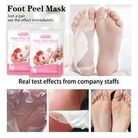 Putimi Peach Feet Mask Remove Dead Skin Cuticles Heels Socks for Pedicure Exfoliating Foot Mask Foot Peeling Mask Foot Care 3