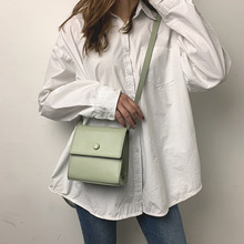 цена на Solid Color Square Sling Bag Women's Bag Korean-style Simple Casual Crossbody Bag Clutch Purse Cover crossbody bags for women