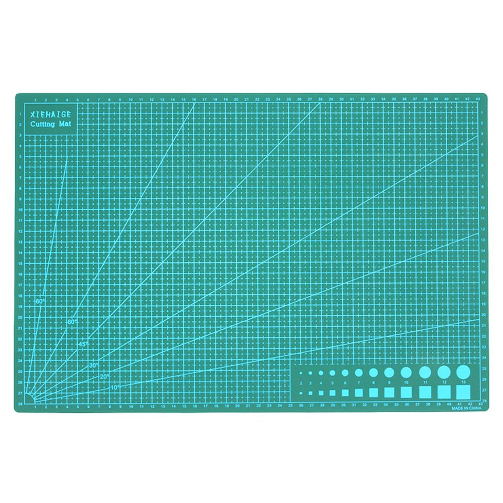 A3 Cutting Mat Cutting Underlay Cutting Plate Handmade Tool For Hand Form Block Durable PVC Material