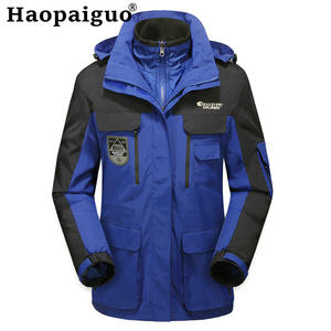 Jacket Multi-Function Mountaineering Warm Autumn Winter Men Windproof Hiking Outdoors