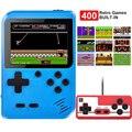 2021 Новый Gameboy 3 дюймов чехол для телефона в виде ретро-игровой консоли мини игры коробка 400 в 1, игрушки для детей, подарки, 8-битный игровой пле...