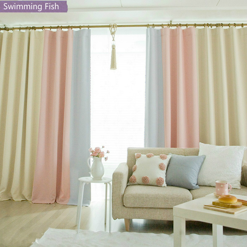 Modern Blackout Window Curtains For Bedroom Curtains Drape For Living Room Fabrics Ready Made Finished Curtain