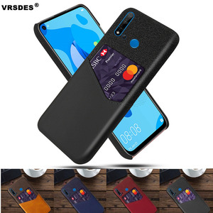 For Huawei P20 Pro Lite P30 P10 Plus P8 P9 Lite 2017 Card Slots Case PU Leather Business Case For Huawei P8 P9 Lite P10 Plus(China)