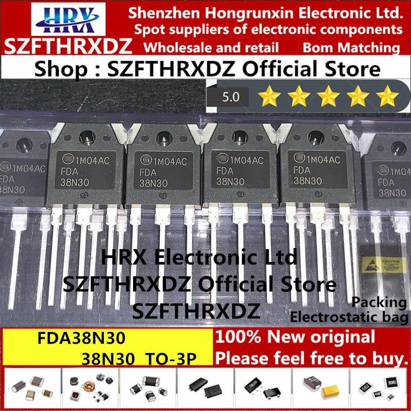 100% Новый оригинальный MOSFET FDA38N30, 38N30, TO3P, 300 В, 30 А, 30 шт./трубка (10 шт.)|Индукторы| | АлиЭкспресс