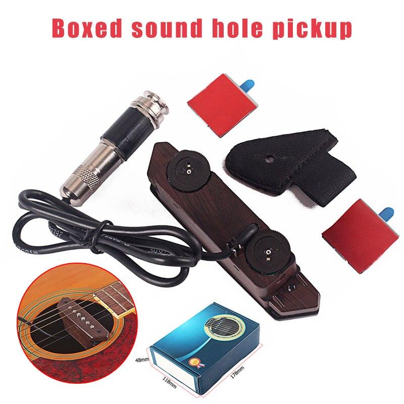 Acoustique Folk guitare son trou pick-up Portable Instrument de musique accessoires YS-BUY