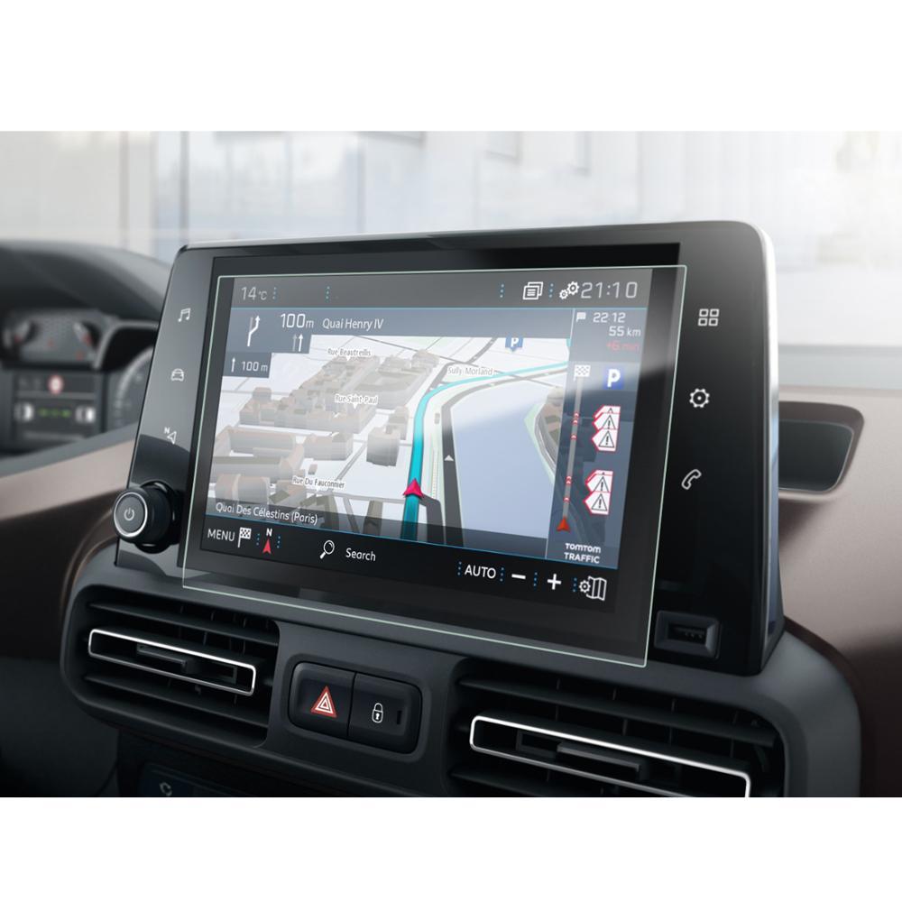 LFOTPP For Rifter 2019 2020 Car Multimedia Radio Center Touch Display Plexiglass Screen Protector Auto Interior Accessories